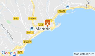Map Menton Apartment 101898