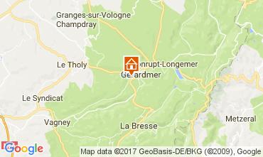 Map Gérardmer Chalet 108389