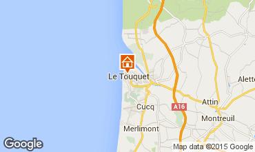Map Le Touquet Apartment 18174