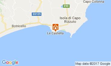 Map Le Castella Apartment 78532