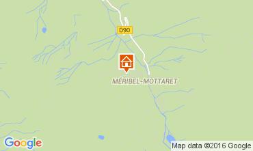 Map Méribel Apartment 73728