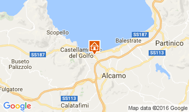 Map Castellammare del Golfo House 105043