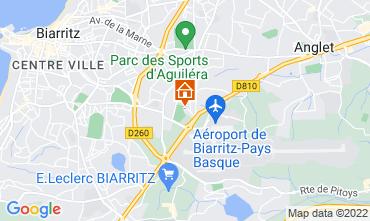 Map Biarritz Apartment 103827