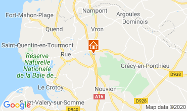 Map Quend Plage Apartment 118449