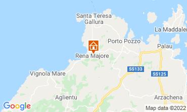 Map Santa Teresa di Gallura Villa 109657