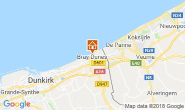 Map Bray-Dunes Apartment 116496