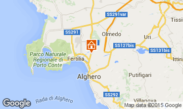 Map Alghero House 94774
