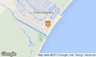Map Empuriabrava Apartment 68823