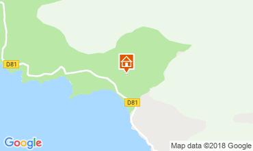 Map Cargèse House 116143