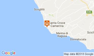 Map Punta Secca Villa 42957
