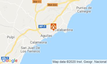 Map Águilas Apartment 108388