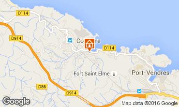 Map Collioure Flat 102726