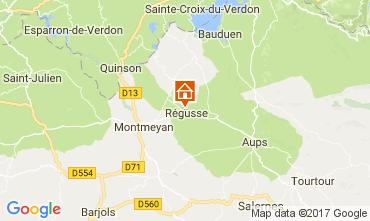 Map Les Salles sur Verdon House 29581
