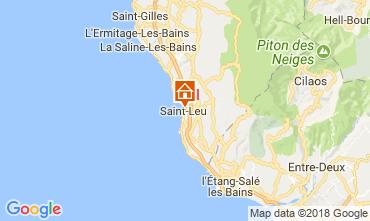 Map Saint Leu Apartment 112298