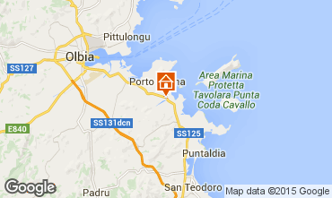 Map Porto San Paolo Apartment 77686
