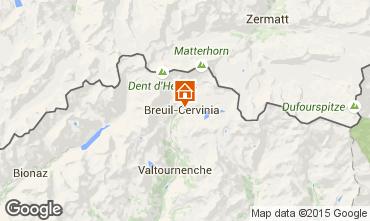 Map Cervinia (Breuil) Apartment 28644