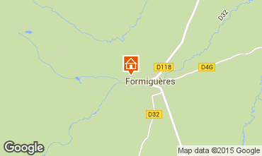 Map Formiguères Chalet 4020
