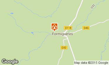 Map Formiguères Chalet 4020