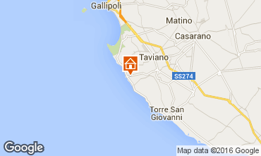 Map Gallipoli Cave dwelling 78245