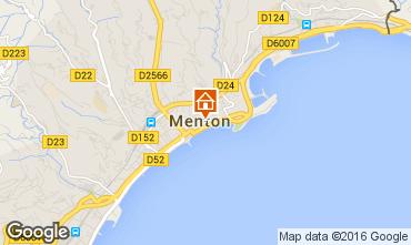 Map Menton Apartment 35730