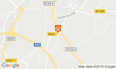 Map Loulé Villa 94793