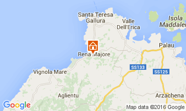 Map Santa Teresa di Gallura Apartment 99066