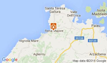 Map Santa Teresa di Gallura Apartment 99066
