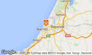 Map Biarritz House 59658
