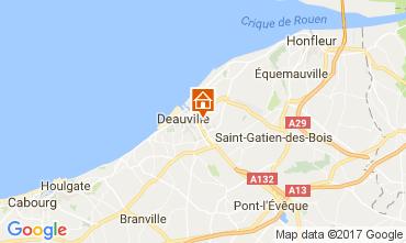 Map Touques Apartment 111786