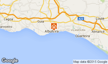 Map Albufeira Apartment 32301