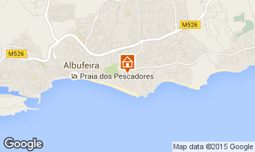 Map Albufeira Apartment 32301