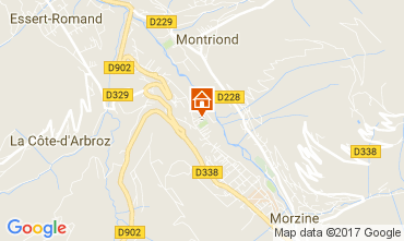 Map Morzine House 69537