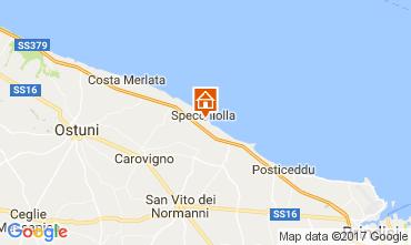 Map Ostuni Apartment 88176
