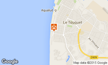 Map Le Touquet Studio apartment 71541