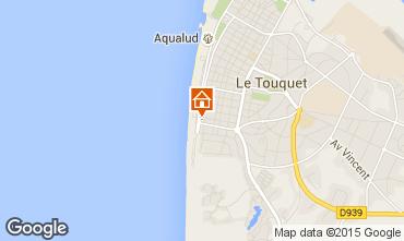 Map Le Touquet Studio apartment 71541