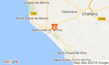 Map Saint Jean de Monts Mobile home 115158