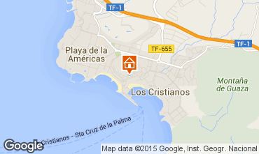Map Los Cristianos Apartment 99539