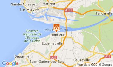Map Honfleur Apartment 106122