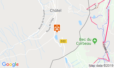 Map Châtel Chalet 41508