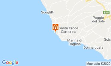 Map Marina di Ragusa Apartment 48123