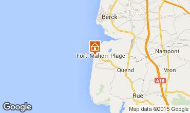 Map Fort Mahon Apartment 50917