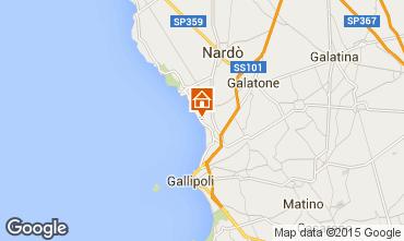 Map Gallipoli Studio apartment 85805