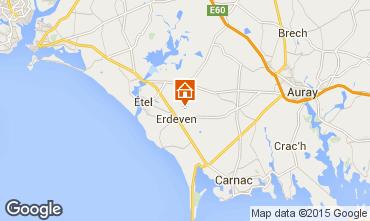 Map Erdeven House 52028