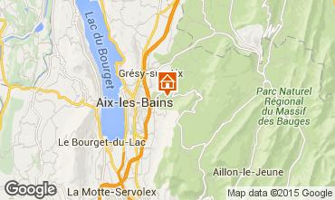 Map Aix Les Bains House 84393