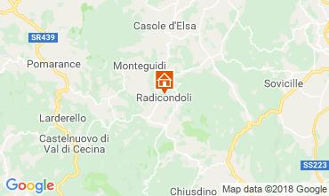 Map Radicondoli House 117378