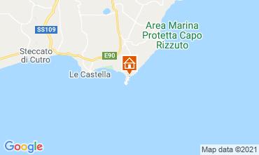 Map Isola di Capo Rizzuto Apartment 89444