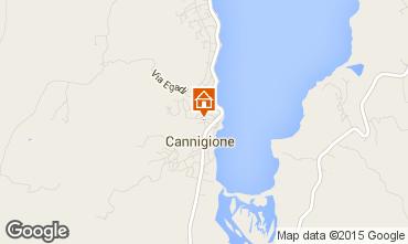 Map Cannigione Studio apartment 83920