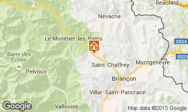 Map Serre Chevalier Apartment 2948