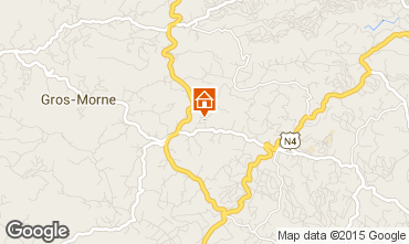 Map Gros-Morne Self-catering property 62747
