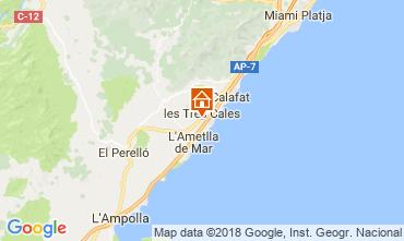 Map La Ametlla de Mar Villa 113854